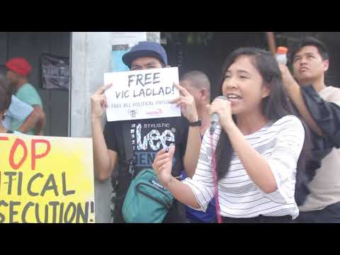 Activists demand freedom for NDFP's Vic Ladlad