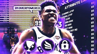 GIANNIS ANTETOKOUNMPO DOUBLE TAKEOVER is SCARY in NBA2K19