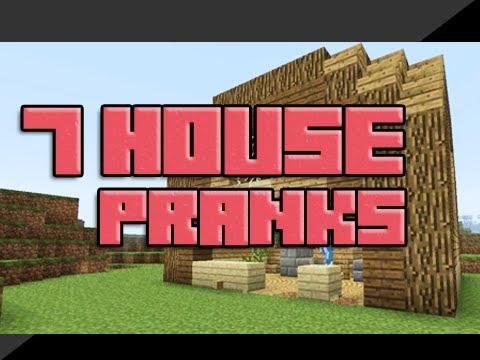 7 House Pranks in Minecraft