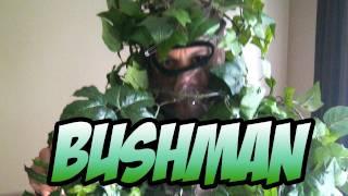 Bush Man Prank In Central Park, New York City