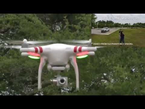 UAV - http://www.UAV-Outlet.com Check out some of the new features you don't want to miss on DJI's Phantom 2 Vision+. We've taken the time at UAV-Outlet.com to put...