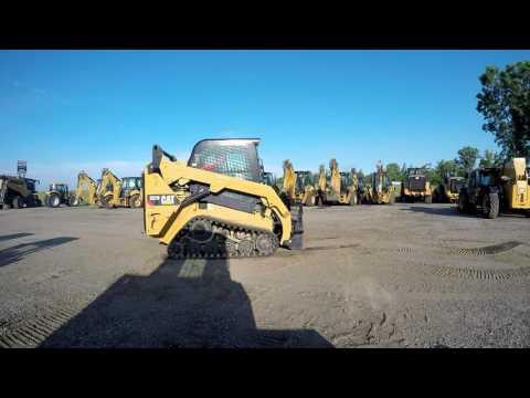 CATERPILLAR MULTI TERRAIN LOADERS 257D equipment video smhqhHMh7no