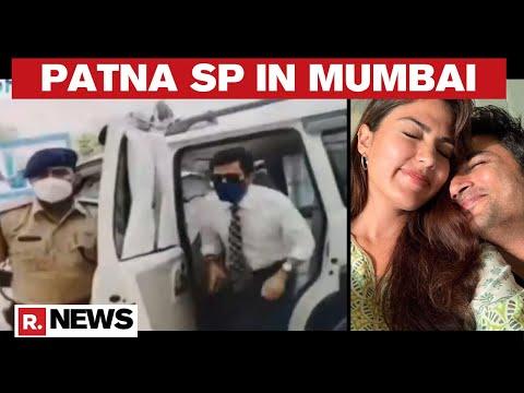 Sushant Death Probe: Patna Police SP Arrives In Mumbai
