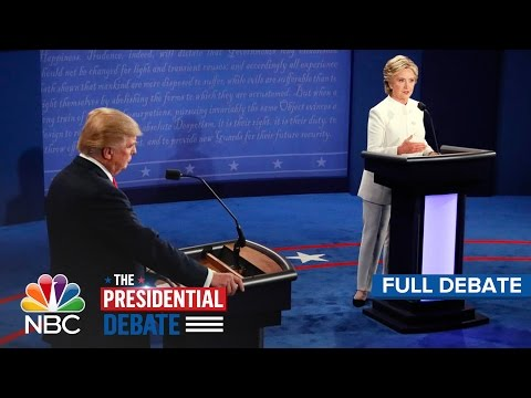 Video The Third Presidential Debate: Hillary Clinton And Donald Trump (Full Debate) | NBC News download in MP3, 3GP, MP4, WEBM, AVI, FLV January 2017