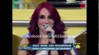 Dulce Maria no Programa do Ratinho 25/09/2013 [COMPLETO]
