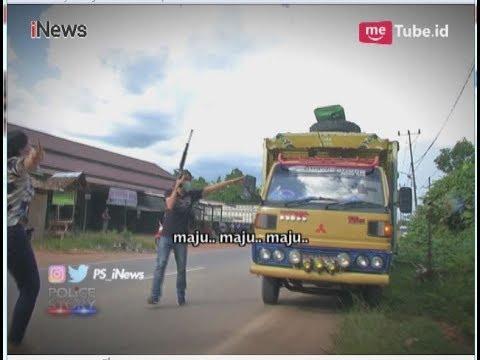 Detik-detik Polisi Geledah Truk Pembawa 5 Kilogram Narkoba Part 02 - Police Story 12/06