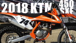 3. 2018 KTM 450SXF - Dirt Bike Magazine