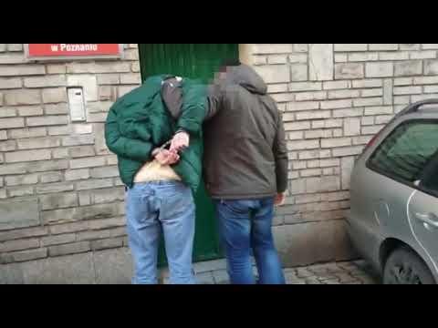 Wideo1: W Górze zatrzymano poszukiwanego listem gończym