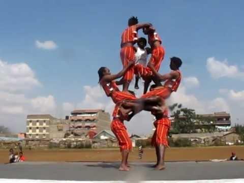Kenya Acrobats Matata Boys