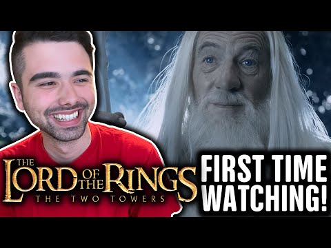 Reacting to LORD OF THE RINGS: The Two Towers (FIRST TIME WATCHING!!) Part 1