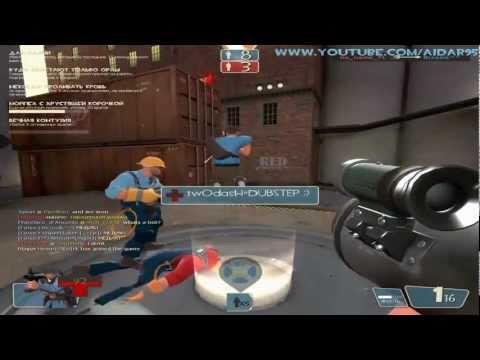 Давайте Играть в Team Fortress 2 - Прямое Попадание (arena_granary)