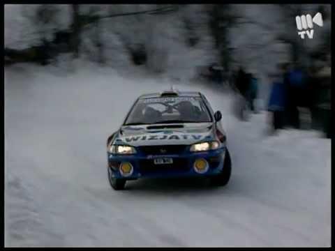 1999 Rajd Zimowy Holowczyc Subaru Impreza