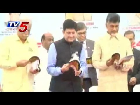 Chandrababu Agreement with NTPC for 24/7 Power : TV5 News