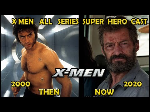X MEN ALL SERIES CAST  PART 1  THEN AND NOW  2020