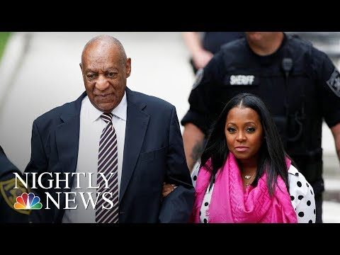Bill Cosby's TV Daughter Shows Support At Sexual Assault Trial | NBC Nightly News