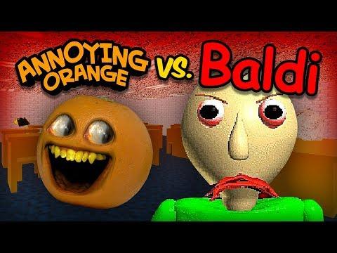 Video Annoying Orange vs Baldi (AO takes Baldi's Basics Math Class!) download in MP3, 3GP, MP4, WEBM, AVI, FLV January 2017