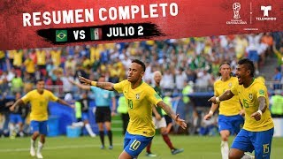 Video Brasil vs México: Resumen Completo Julio 2 | Copa Mundial FIFA Rusia 2018 | Telemundo MP3, 3GP, MP4, WEBM, AVI, FLV Juli 2018