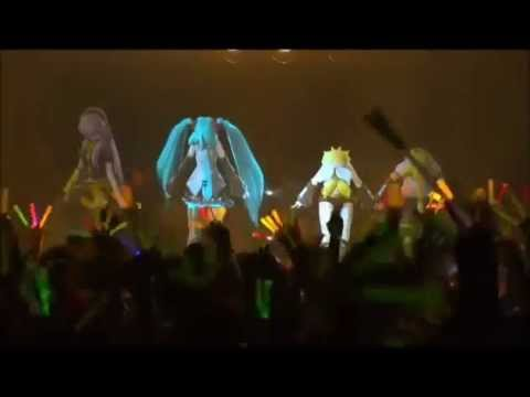 28º Vocaloids Say Goodbye - Miku,Luka,Rin Y Len - Miku 39s Concert 2011 Live In Sapporo