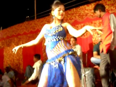Download Hot Item Bar Girl in Bhojpuri Stage Arkestra Dance Program HD Video
