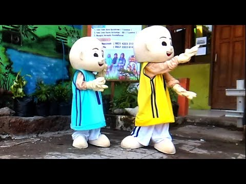 UPIN & IPIN DANCE - BABY SHARK DANCE SONG FOR KIDS | ANAK-ANAK ASIK LUCU SEKALI (видео)
