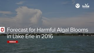 Forecast for Harmful Algal Blooms in Lake Erie in 2016
