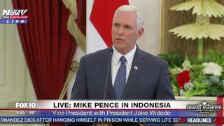 Video WATCH: Mike Pence Speaking In Indonesia (FNN) MP3, 3GP, MP4, WEBM, AVI, FLV Agustus 2017