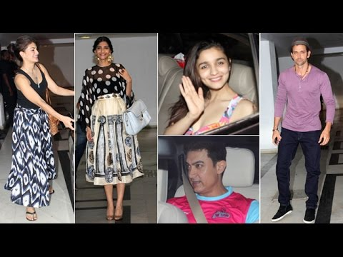 Bollywood Celebs Attend Karan Johar's House Party