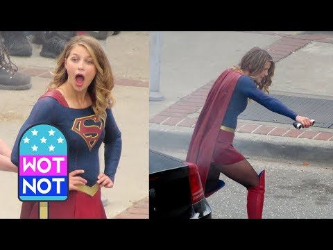 Melissa Benoist Returns to Film Supergirl Season 3 in Vancouver, Canada