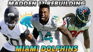 Madden 17 Connected Franchise | Rebuilding The Miami Dolphins | The New Deshaun Watson/Lamar Jackson