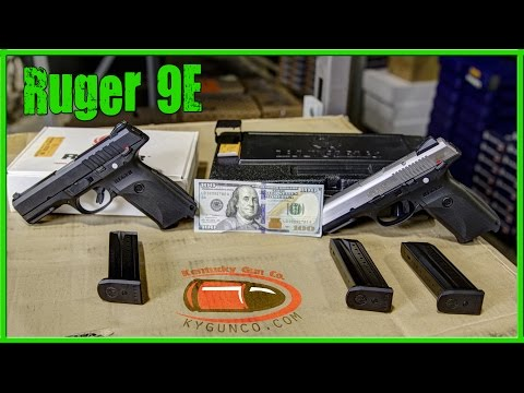 ruger - Ruger has introduced an economical version of their popular SR9 pistol! Patrick shows you all the great features retained in Ruger's 9E centerfire pistol. Ch...