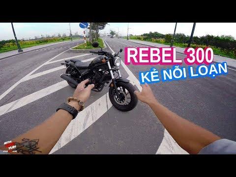 Đánh giá thực tế Honda Rebel 300 | Bobber dáng Mỹ 125 triệu - Thời lượng: 13 phút.