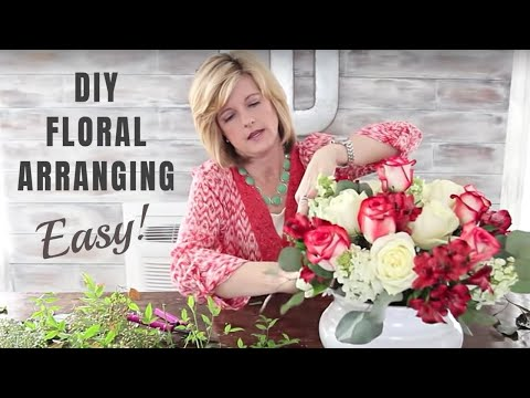 How To Make Floral Arrangements And Great Floral Design| Diy