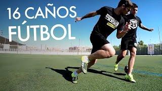 LOS MEJORES CAÑOS de Fútbol APRENDE  Trucos Jugadas y Videos de Futbol Regates Panna