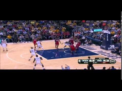 Pacers vs Wizards: Game 2 I Hibbert Hot, Lance Not I Film Room Breakdown