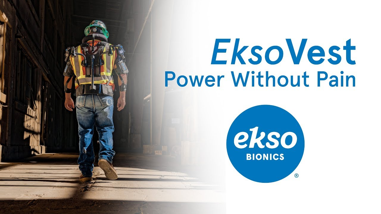 EksoVest for Manufacturing and Construction