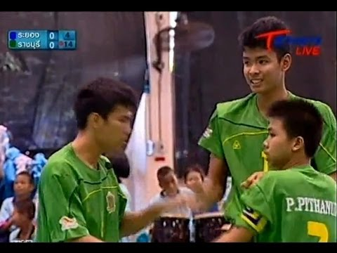 Rayong - Ratchaburi Takraw Thailand League 2012 (2nd)