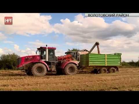 Губернатор Сергей Митин проверил ход сельскохозяйственных работ в Волотовском районе