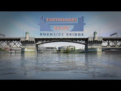 Earthquake Ready Burnside Bridge: Simulation