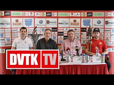 """""""Mindenki tette a dolgát""""   2017. március 24.   DVTK TV"""