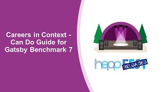 Careers in Context – Can Do Guide for Gatsby Benchmark 7