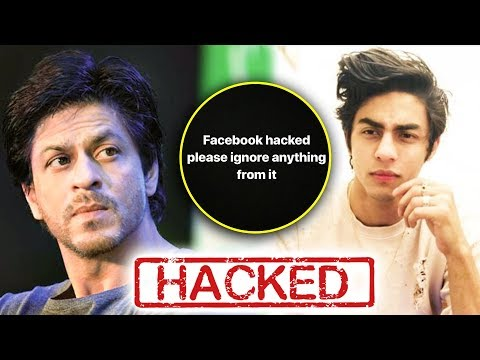 Shah Rukh Khan's Son Aryan Khan Facebook Account HACKED