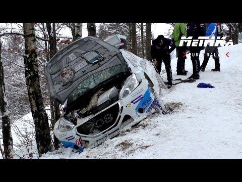 Jänner Rallye 2015   Action & Crash