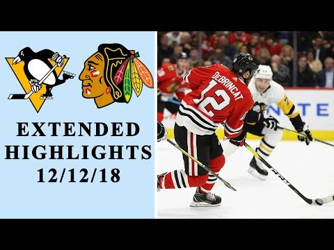 Video: Pittsburgh Penguins vs. Chicago Blackhawks | EXTENDED HIGHLIGHTS | 12/12/18 | NBC Sports