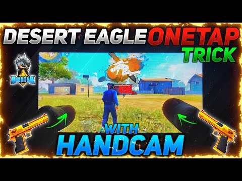 DESERT EAGLE ONE TAP HEADSHOT TRICK WITH HANDCAM🔥-para A3,A5,A6,A7,J2,J5,J7,S5,S6,S7,S9,A10,A20,A30
