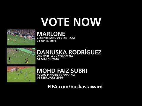 EXCLUSIVE - THE FINAL 3 - The FIFA Puskas Award (видео)