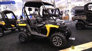 5. 2019 Cub Cadet Challenger 400 Utility ATV - Walkaround - 2018 Toronto ATV Show