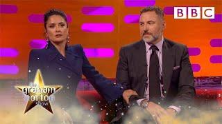 Salma Hayek tops David Walliam's anecdote about Prince - The Graham Norton Show 2017: Preview