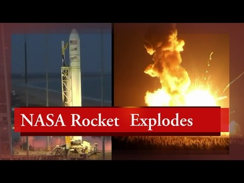 Exclusive : NASA Rocket Explodes Moments After Lift-off On Tuesday : TV5 News