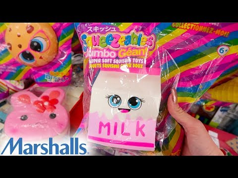 SUPER CHEAP GIANT SQUISHIES AT MARSHALLS!