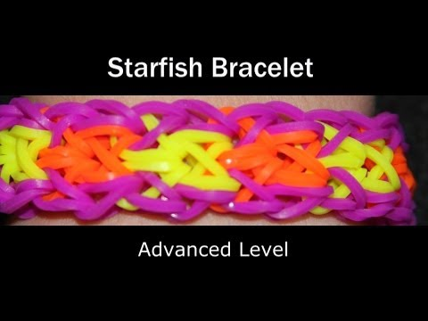 Rainbow Loom® Starfish Bracelet